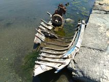 ?pave de bateau de p?che images libres de droits