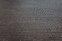 Pave Slabs ground ,Tiled Pavement Royalty Free Stock Photos