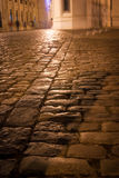 Paved alley Stock Photo