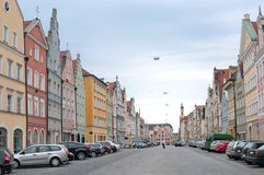 Paved bavarian Street Royalty Free Stock Images