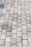 Paved driveway Royalty Free Stock Images