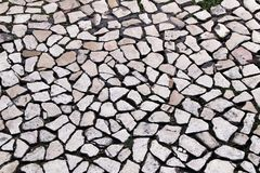 Free Paved Floor Of A Street In Lisbon Royalty Free Stock Images - 143484319