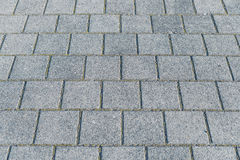 Paved with granite floor Royalty Free Stock Photo