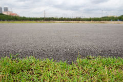Paved with grass Stock Photos