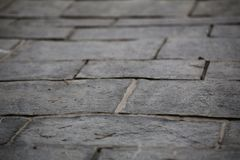 Paved Ground Stock Photography