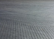 Paved pavement Stock Images