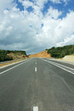 Paved road stock photos