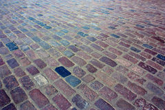 The paved road. As an abstract background Stock Images