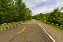 Paved road. Royalty Free Stock Photos
