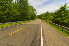 Paved road. Stock Photos