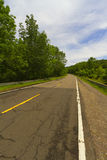 Paved road. Royalty Free Stock Photo