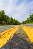 Paved road. Stock Image