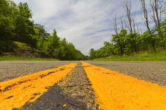 Paved road. Stock Photography