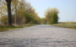 Paved Road Royalty Free Stock Images