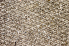 Paved sidewalk abstract texture Stock Images