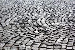 Paved square Royalty Free Stock Image