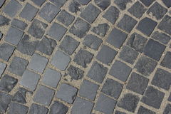 Paved stone texture Royalty Free Stock Photos