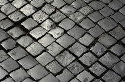 Paved stones Stock Image