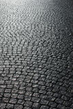 Paved street Royalty Free Stock Photo