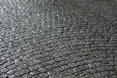 Paved street Royalty Free Stock Photography