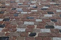 Paved street abstract Royalty Free Stock Images