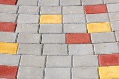 Paved walkway Royalty Free Stock Image