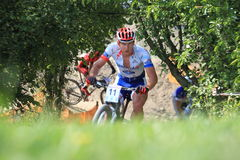 Pavel Boudny - MTB cross country Royalty Free Stock Image