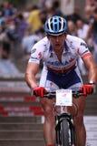 Pavel Boudny - Prague bike race Stock Photo