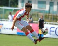 Pavel Bucha - Slavia Πράγα Στοκ εικόνα με δικαίωμα ελεύθερης χρήσης