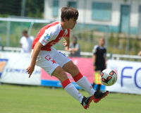 Pavel Bucha - Slavia Prague Image libre de droits