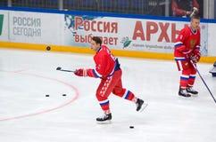 Pavel Bure (10) που εκπαιδεύει Στοκ Φωτογραφία