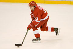 Pavel Datsyuk Breaks In Fotografia de Stock