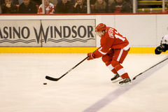 Pavel Datsyuk Breaks In Stock Photos