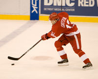 Pavel Datsyuk Controls The Puck stock images