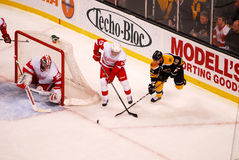 Pavel Datsyuk and David Krejci Stock Photo