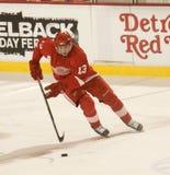 Pavel Datsyuk de los Detroit Red Wings Imágenes de archivo libres de regalías