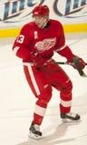 Pavel Datsyuk de los Detroit Red Wings Foto de archivo libre de regalías