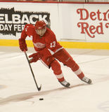 Pavel Datsyuk der Detroit Red Wings Lizenzfreie Stockbilder