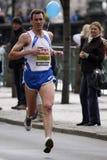 Pavel Faschingbauer in Prague half marathon Royalty Free Stock Image