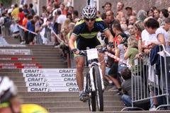 Pavel Gonda - Prague bike race 2011 Royalty Free Stock Image