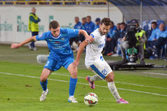 Pavel Ivanov and Bruno Gama Stock Images