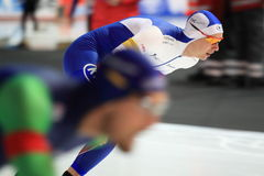 Pavel Kulizhnikov - speed skating Royalty Free Stock Image