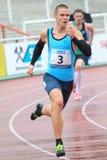 Pavel Maslak - 400 mètres de course Photographie stock