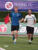 Pavel Pogrebnyak of Reading FC Royalty Free Stock Photos