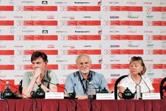 Pavel Shvedov, Pert Chernaev, Ольга Galistskaya Стоковая Фотография RF