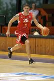 Pavel Slezak - CEZ Basketbal Nymburk Fotografía de archivo