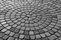 Pavement. Black and white photo of pavement Stock Photography