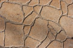 Pavement. Rough texture of pavement tiles Royalty Free Stock Photography