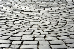 Pavement. Close-up of old paving stones royalty free stock photo