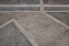 Pavement of an ancient italian square. Top view of the pavement of an ancient italian square Stock Photo